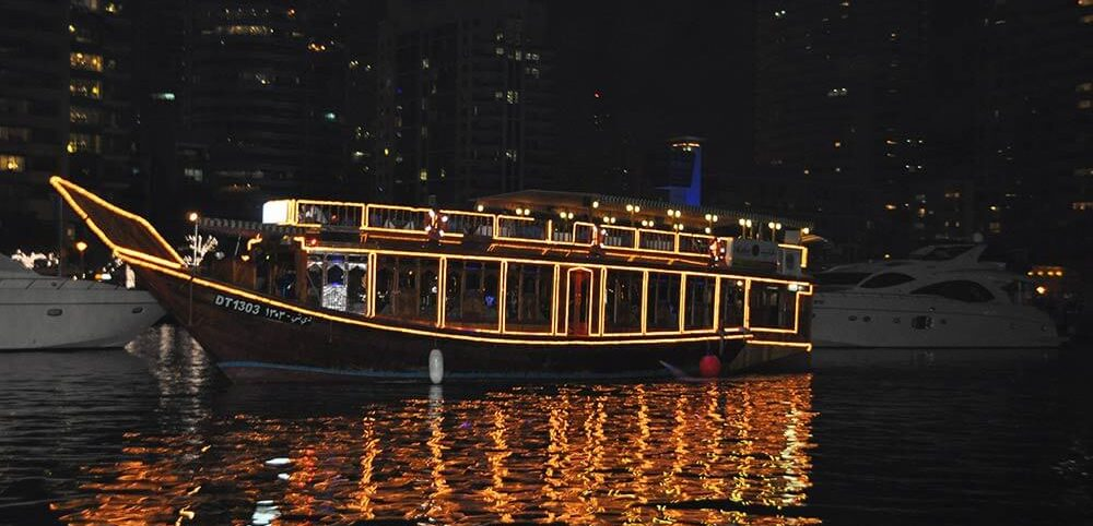 Cruising at Dubai Creek
