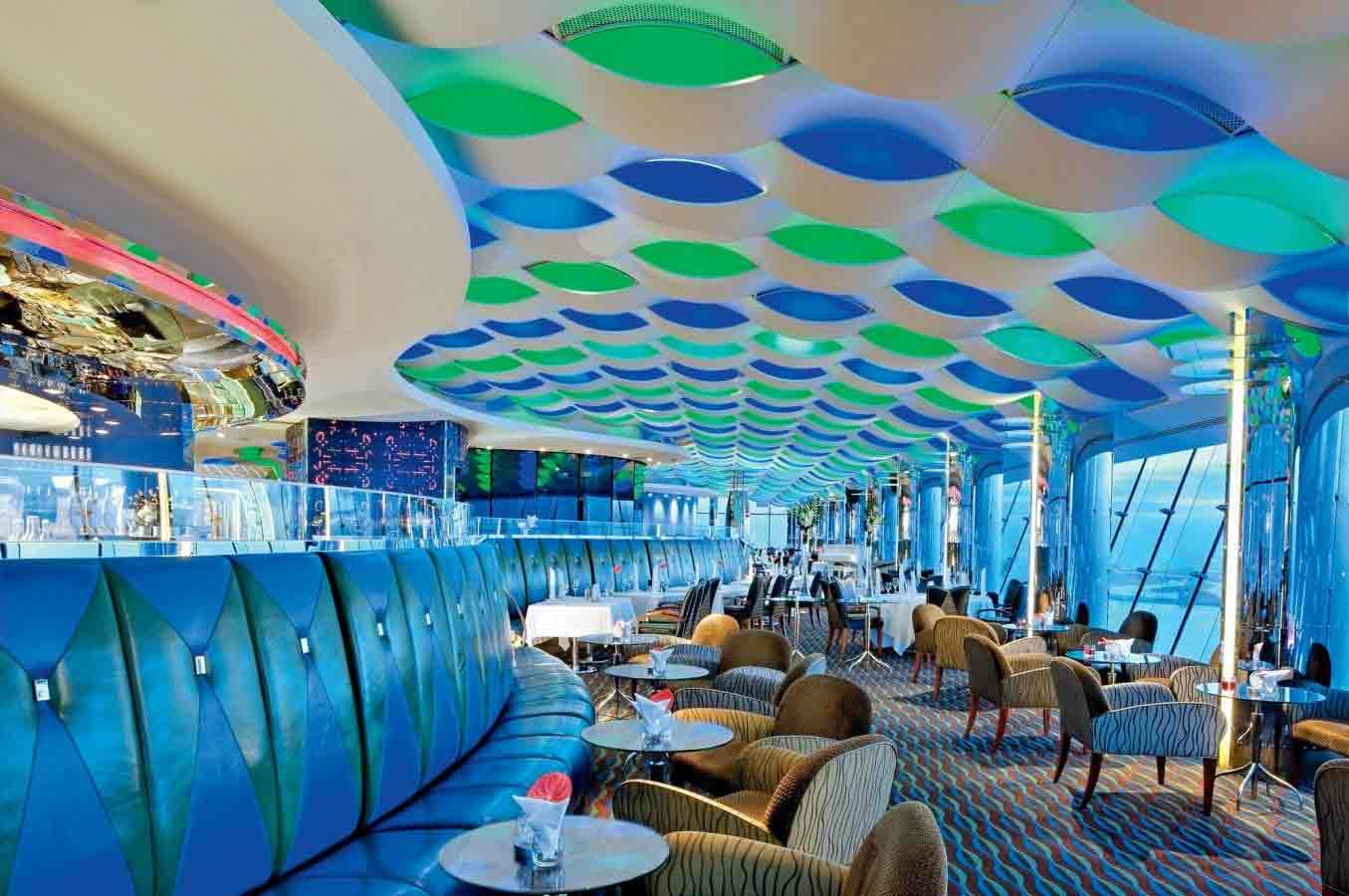 Skyview Bar in Burj Al Arab Dubai