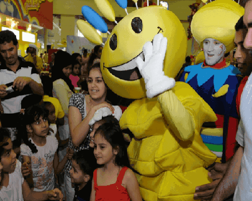 Mascots - Modhesh World Dubai