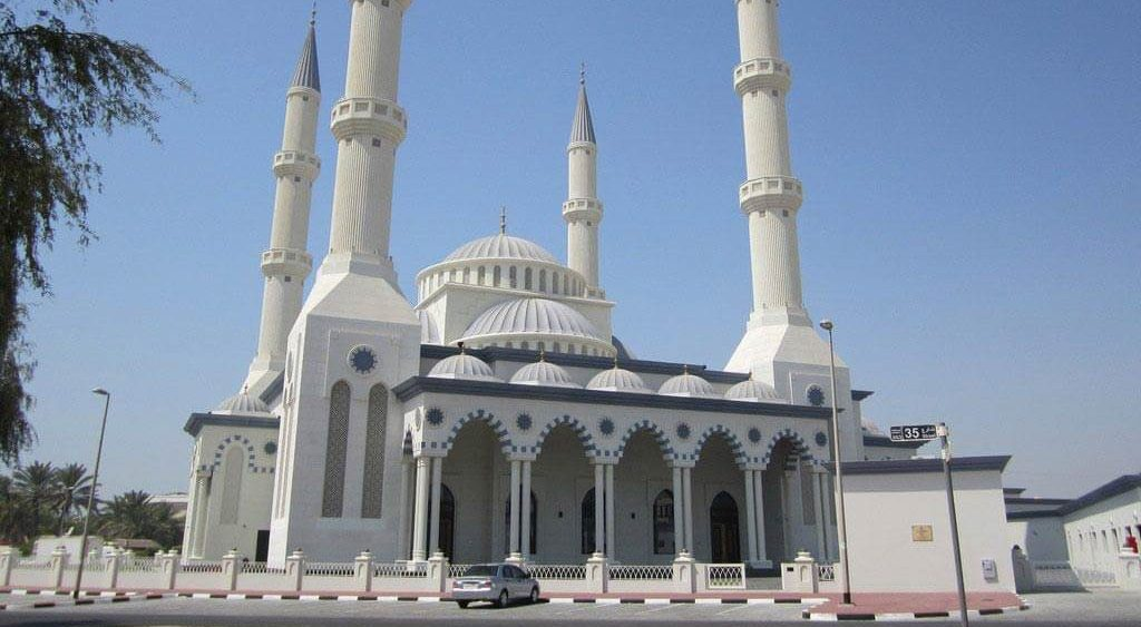 Blue Mosque, Al Safa, Dubai
