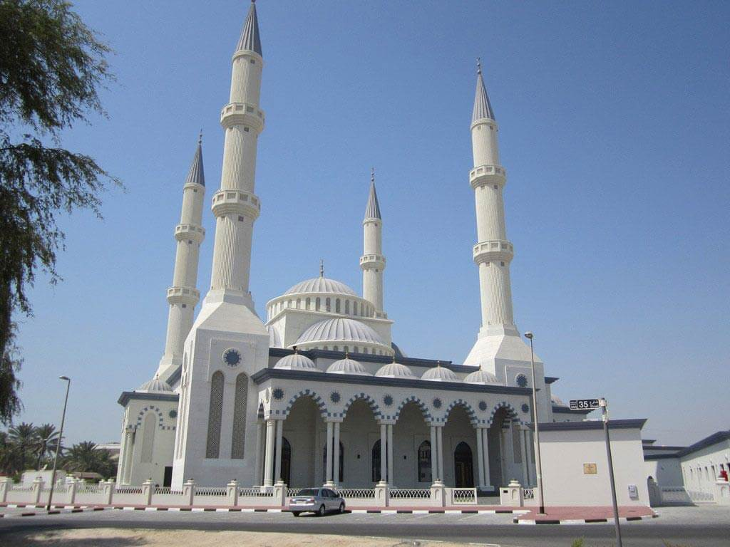 Blue Mosque, Al Safa, Dubai