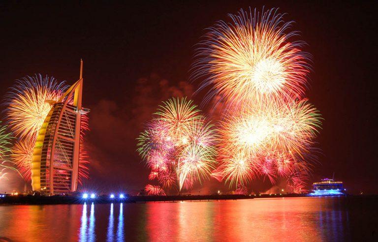 new year party in burj al arab