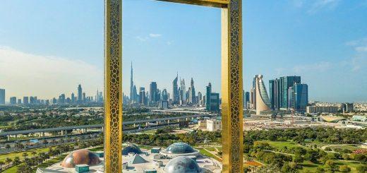 Dubai Frame View Image