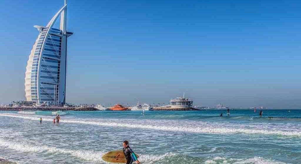 The Jumeirah Beach