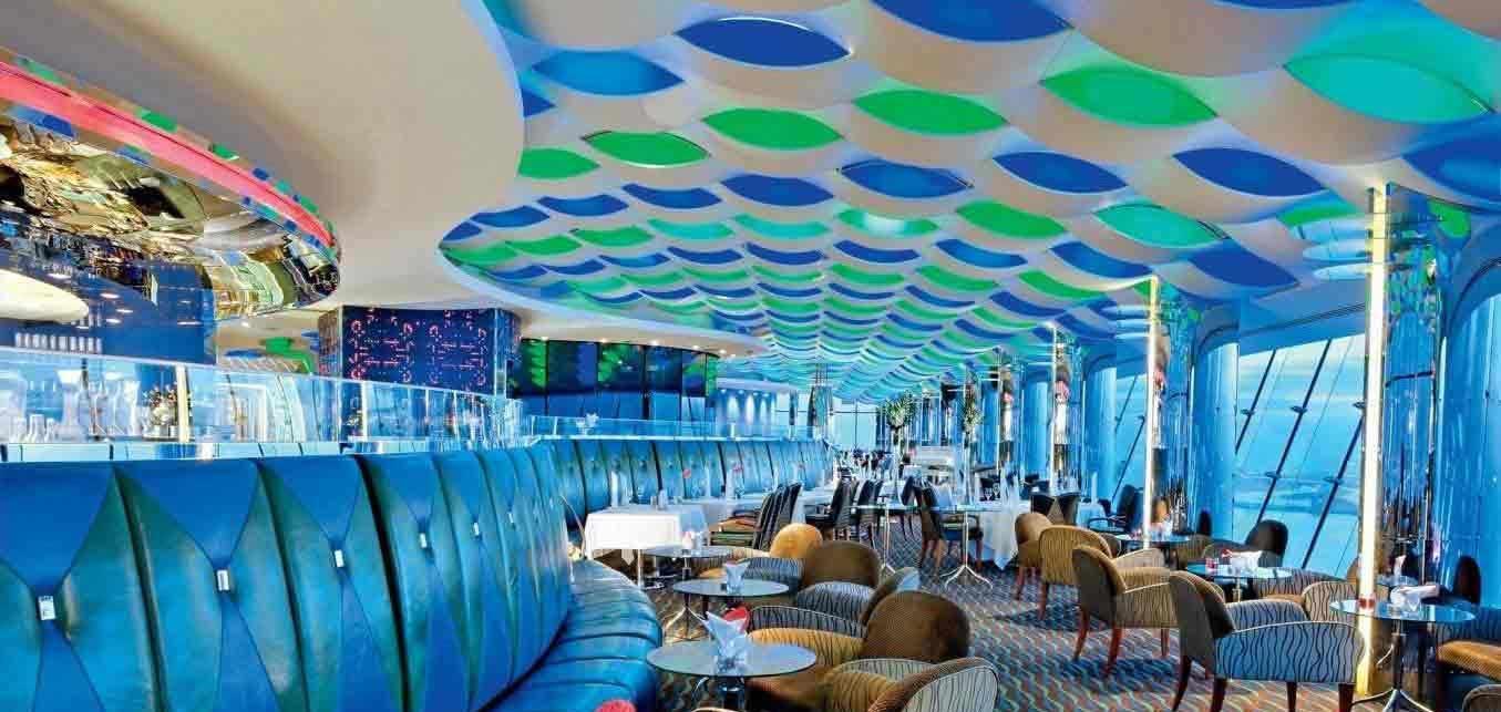 Skyview Bar in Burj Al Arab Dubai