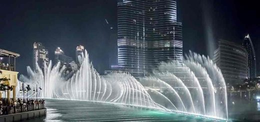 Burk Khalifa-Fountain show