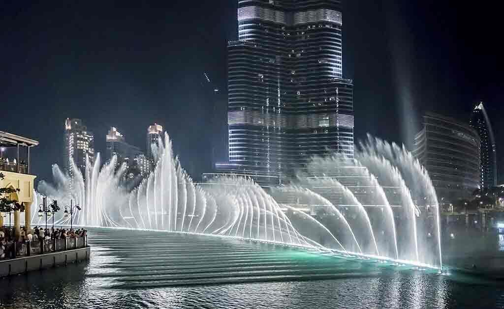 Burk Khalifa-Fountain show