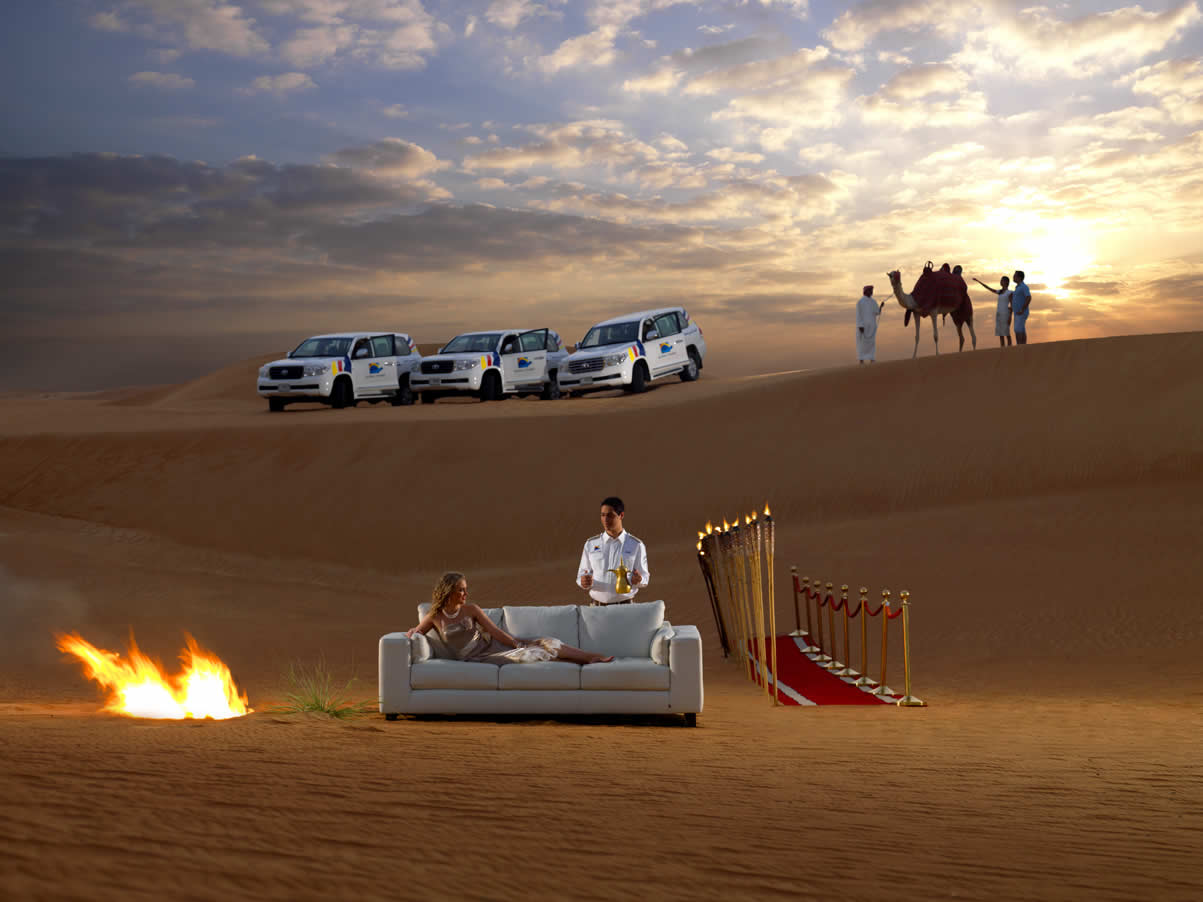 Valentines Day in The Desert Safari