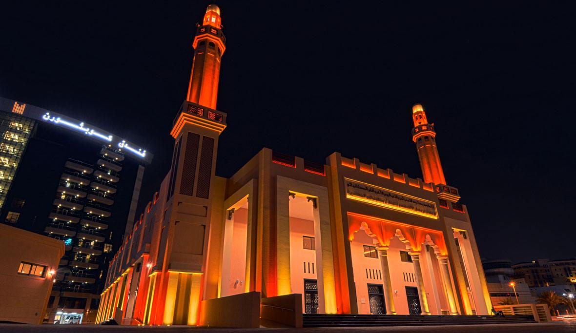 Green Mosque, Dubai