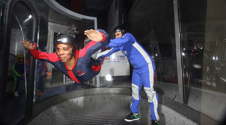IndoorSky Diving Experience in Dubai