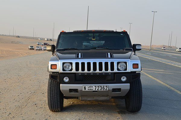 Hummer Desert Safari in Dubai