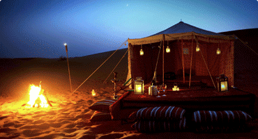 Overnight Safari in Dubai Desert